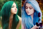 Candy Colored Bright Hair